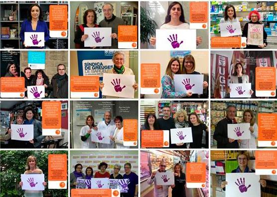 Participación en la campaña «Di no»